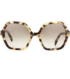 Prada Sunglasses For Spring-Summer 2017 Prada Sunglasses, Luxury Sunglasses, Sunglasses Online, Retro, Eyewear, Lenses, How To Look Better, Polyvore, Fashion Trends
