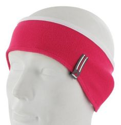 Adidas Women's Yukiko Headband, Bright Pink/White, Single Size