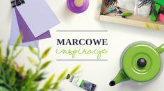 MAracowa paleta kolorów przepełniona zielonym i fioletem