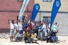 To mark Group's 150 year milestone, some of our South Africa colleagues donated 150 minutes of their time to planting 150 trees in Alexandra Township, north of Johannesburg Go Green, Moving Forward, Planting, South Africa, Environment, Trees, Group, Move Forward, Plants