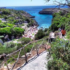 Cala Binidali Minorca Menorca Menorca, Best Places To Live, Places To Travel, Places To Visit, Iceland In May, Balearic Islands, Small Island, Holiday Destinations, Beautiful Beaches
