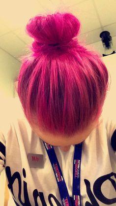 Miss my pink/purple hair!