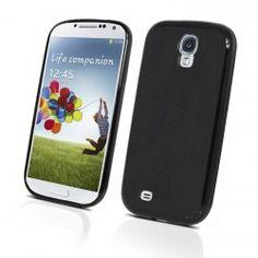Muvit Housse Minigel Smoke Noire Pour Samsung Galaxy S4