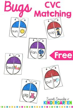 Fun CVC game for literacy centers or word work stations. Great way to teach stu… Fun CVC game for literacy centers or word work stations. Great way to teach students simple words and make them confident readers! Kindergarten Centers, Kindergarten Reading, Literacy Centers, Kindergarten Phonics, Teaching Reading, Literacy Strategies, Teaching Phonics, Student Reading, Vestidos