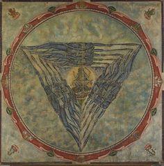 Kali Yantra. The symbol of Feminine energy-strength, power and clarity.