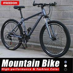 """26"""" Full Suspension Mountain Bike Shimano 21 Speed Men's Bikes Bicycle MTB   eBay"""