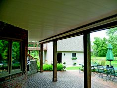 Zip-Up UnderDeck installs quickly and easily using just 5 components. Transforms under utilized area under a raised deck into valuable dry outdoor space for entertainment, relaxation, and storage space. Components are made from durable interlocking PVC rails, panels, and trim. Available in white and beige.