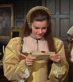 Genevieve Bujold as Anne Boleyn in Anne of the Thousand Days - 1969