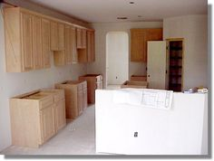 How To Paint Unfinished Cabinets Rental Pinterest Unfinished