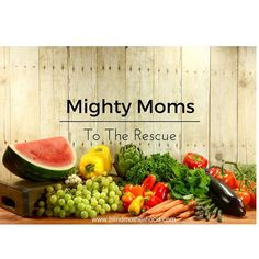 Mighty Moms to the R
