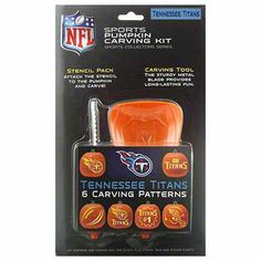 Tennessee Titans Pumpkin Carving Kit