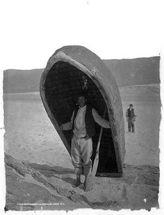 A fisherman with his Currach at Ardara, Co. Cannot for the life of me explain why, but I find the stance of the second man behind very appealing - something to do with the angle of his head perhaps. Date: Circa 1897 NLI Ref. Old Photos, Vintage Photos, Vintage Photographs, Old Irish, Irish People, Erin Go Bragh, Irish Culture, Kingdom Of Great Britain, Donegal