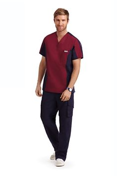 Men's Scrub Set Toronto | Dixie Uniforms Canada Scrubs Outfit, Scrubs Uniform, Men In Uniform, Scrub Suit Design, Stylish Scrubs, Housekeeping Uniform, Greys Anatomy Scrubs, Medical Scrubs, Nursing Scrubs