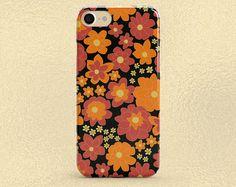 Floral Phone Case iPhone 8 Plus Case iPhone 8 Case iPhone 7