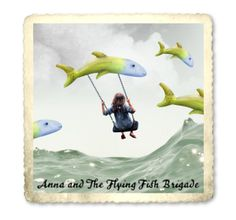 """Anna and the Flying Fish Brigade"" by colbysma on Polyvore"
