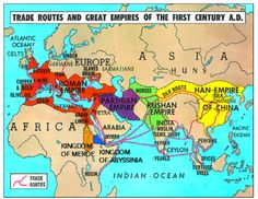 Empires circa 1 A. - Mesopotamia is now the Parthian Empire Roman History, European History, World History, American History, Ancient Rome, Ancient History, Ancient Aliens, Ancient Greece, Friedrich Ii