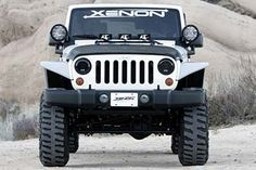 Xenon Wrangler JK Fender Flare Kit wider than stock 9010 Jeep Wrangler Headlights, Jeep Fenders, Custom Headlights, Headlight Covers, Jeep Accessories, Fender Flares, Jeep Truck, Wrangler Jk, Jeep Life