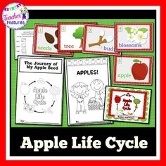 What a fun way to learn about apples while coordinating perfectly with your Apple Unit. Easy to use in Centers and minimal prep.