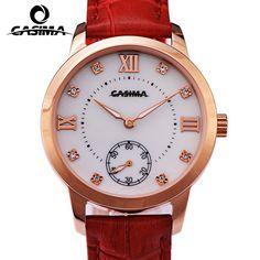 >> Click to Buy << Luxury Brand CASIMA Women Watch montre femme Casual Leather Quartz Ladies Watches Waterproof Female Clock reloj mujer #Affiliate