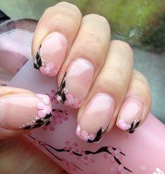 Wunderschöne Frühlingshochzeit Nail Designs