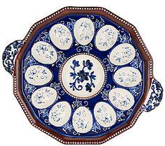 Temp-tations Floral Lace S/2 Egg Trays - H204204 — QVC.com