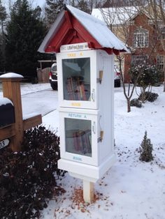 Chris Harris. Charlotte, NC. This was a Christmas gift that would be giving back to the community. Christmas is a time for family and a time for giving, our Little Free Library made a great gift for our neighborhood. Our little library was completely built from reclaimed wood and reclaimed windows. We did have to purchase some of the hardware. Check out our photo of the construction of the library.