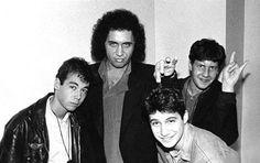 Gene Simmons with Adam Yauch, Adam Horovitz and Michael Diamond from the Beastie…