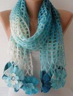 Unique Crochet Scarf Knit Scarf Gift Scarf Personalized Gift ideas for Her Girlfriend gift for her Mom Gift personalized gift Crochet Scarves, Crochet Shawl, Crochet Lace, Scarf Knit, Christmas Gifts For Girlfriend, Boyfriend Gifts, Girlfriend Gift, Unique Gifts For Women, Unique Crochet