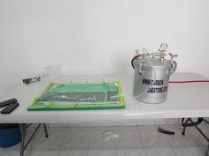 Fabricación de piezas por el proceso de infusión de resina. Para mayor información, visita: www.carbonlabstore.com