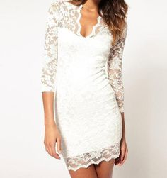 Graced with Lace Party Dress