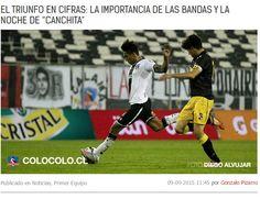 """Christofer Gonzales: Colo Colo calificó de """"brillante"""" su actuación en Copa Chile. Setiembre 09, 2015."""