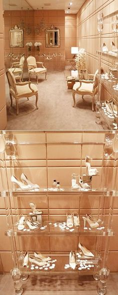 Jimmy Choo Bridal Room, Sloane Square