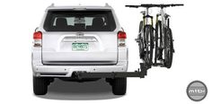 Allows full access to rear of a vehicle, even with bikes installed.