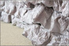 DIY bed ruffle skirt