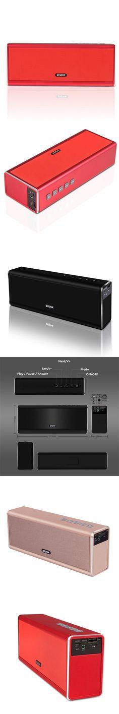 Piple NEW Speakers Bluetooth Portable Piple 20W Phone Speaker Soundbar Wireless Speaker 4000mah Power Bank Rechargeable
