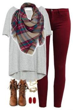 fall-outfit-with-burgundy-pants