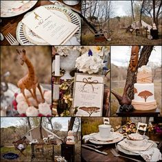KD Event Designs: Vintage Safari Styled Shoot at Out of Africa Wild Life Park