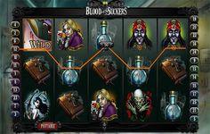 Suckers, Slot Machine, Online Casino, Blood, Germany, Deutsch, Arcade Machine