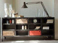 Industriell møbelproduksjon locker Brooklin 12 - Midiune - industrielle møbler og vintage - Valg