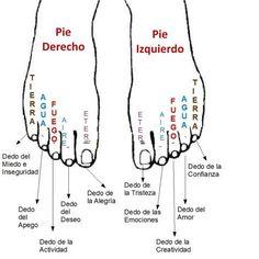 dita dei piedi significato