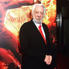 Donald Sutherland arrives at the #MockingjayNYC Special Screening of #MockingjayPart2!