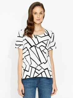 Image for Spliced Geo Top from Portmans
