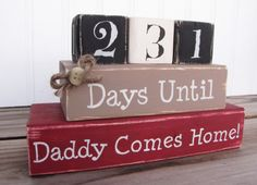 I thought of you Tonya when I saw this- what a great idea, especially for repeat deployments!! =)