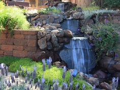 Get ideas for how to bring the soothing sounds of bubbling water to your outdoor living space from HGTV.com.
