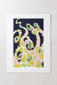 Blue Ringed Octopus by Judd Boloker #Anthropologie #PinToWin