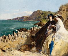 By the Seaside, 1862 | In the Swan's Shadow