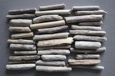 Bois flotté morceau vrac 35 plage blanchi lavé poli mer fournitures accessoires mobile decoration campagne maison chambre zen jardin lot