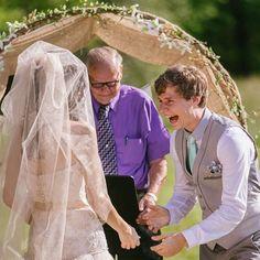 """Ventitré mariti raccontano il momento nel quale hanno pensato: """"È lei"""" (FOTO)"""