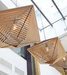 Het Lichtlab | Design verlichtingNo.40 hanglamp Beams by a-LEX | Het Lichtlab