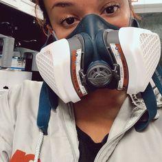 Gas Mask Girl, Respirator Mask, Degas, Jennifer Aniston, Kim Kardashian, Safety, Masks, Girls, Women